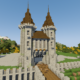 How To Build A Castle Minecraft Tutorial | Medieval Castle Part 1
