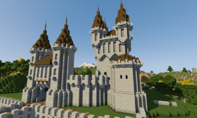 How To Build A Castle Minecraft Tutorial | Medieval Castle Part 2