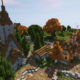 Minecraft Village Transformation Timelapse Speed Build - Part 5