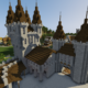 How To Build A Castle Minecraft Tutorial | Medieval Castle Part 3