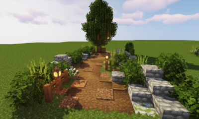 Minecraft: How To Make Pathways Look Amazing!