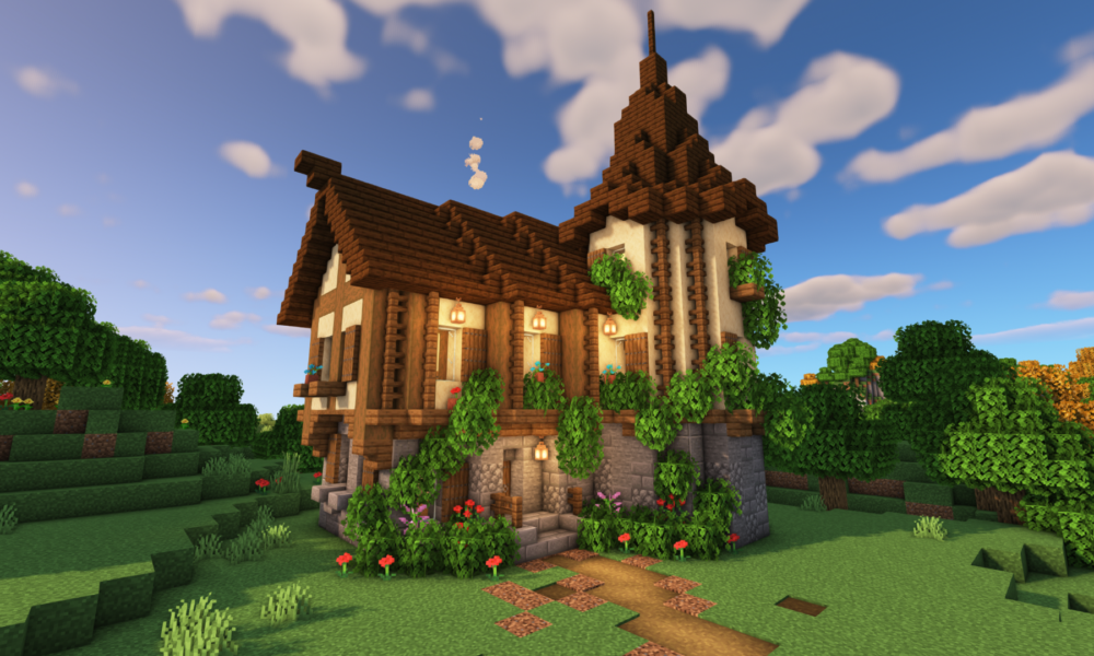 Minecraft: How to Build a Medieval House | Easy Medieval House Tutorial