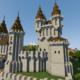 How To Build A Castle Minecraft Tutorial | Medieval Castle Part 2