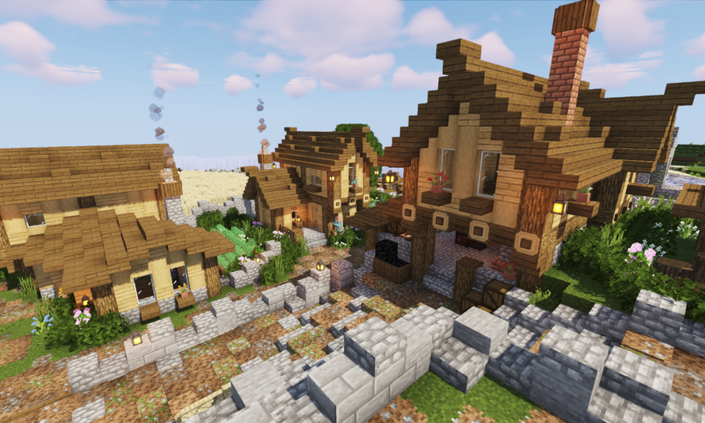 Minecraft 1.14 Village Transformation Timelapse - Part 2 ...