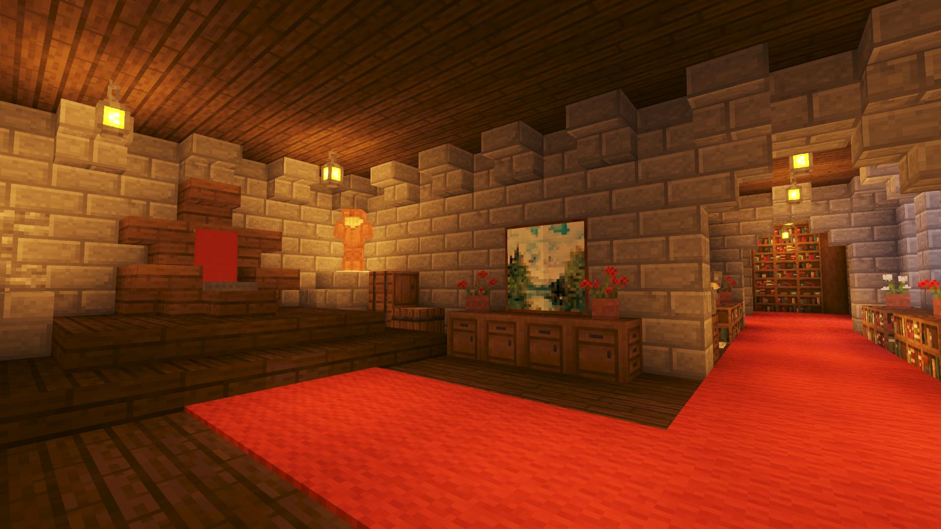 How To Build A Castle Minecraft Tutorial Medieval Castle Part 9 Bluenerd