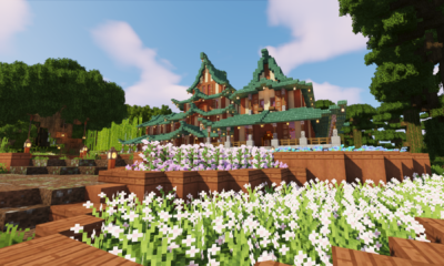 Minecraft Timelapse | Japanese Castle/Temple