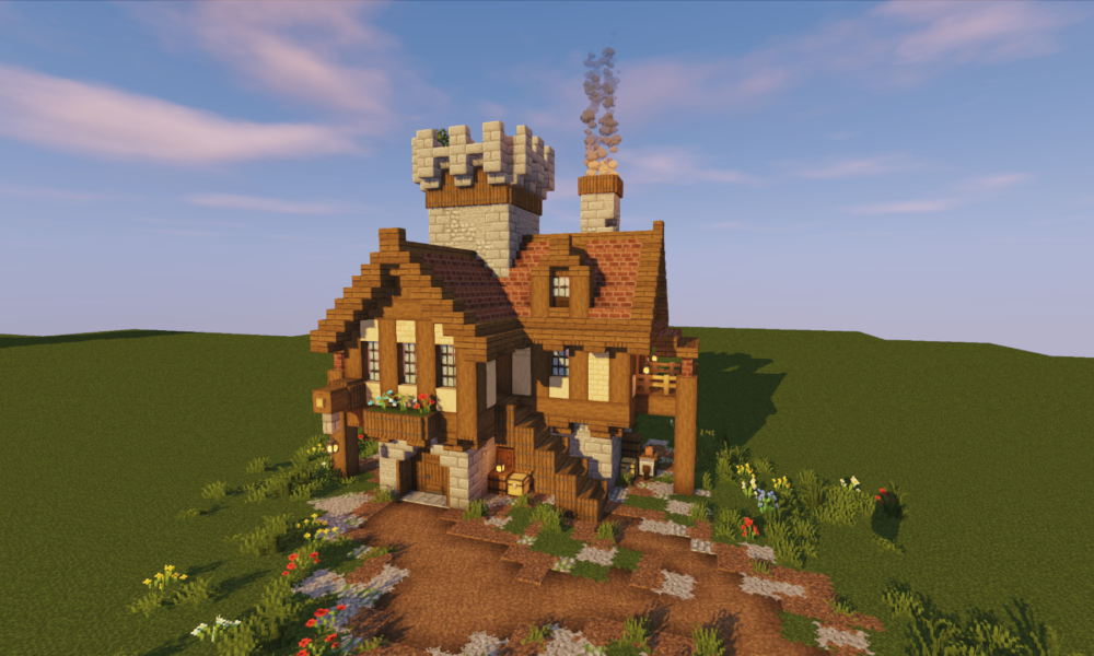 Minecraft: 10 Simple Roof Designs That Will Transform Your ...