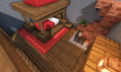 Minecraft: 5 Medieval Bedroom Designs Ideas For 1.14