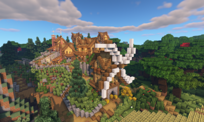 Minecraft Timelapse | Mountain Village Transformation